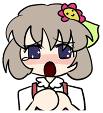 """""""Misshitsu Syndrome""""charactor's Stamps! sticker #306901"""