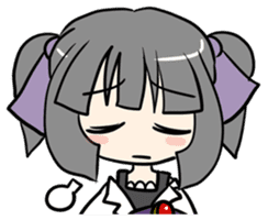 """""""Misshitsu Syndrome""""charactor's Stamps! sticker #306902"""