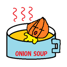ONION MAN sticker #306982