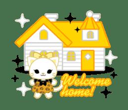 Leopard and cat sticker #307467