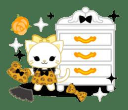 Leopard and cat sticker #307469