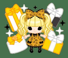 Leopard and cat sticker #307470