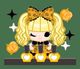 Leopard and cat sticker #307474