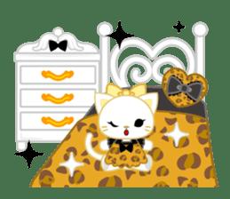 Leopard and cat sticker #307476
