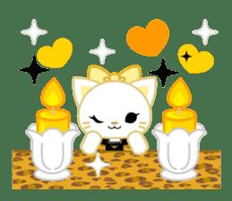 Leopard and cat sticker #307478