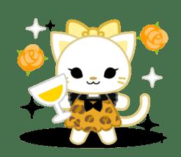 Leopard and cat sticker #307483