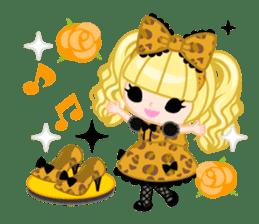 Leopard and cat sticker #307485