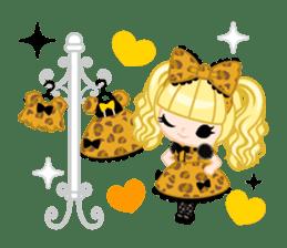 Leopard and cat sticker #307486