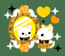 Leopard and cat sticker #307487