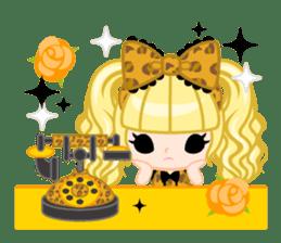 Leopard and cat sticker #307490