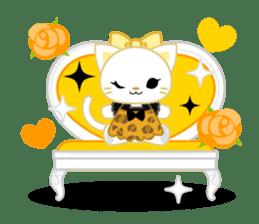 Leopard and cat sticker #307495