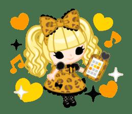 Leopard and cat sticker #307496