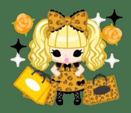Leopard and cat sticker #307501