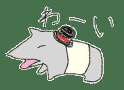 Enjoy animals life! sticker #307890