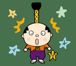 Nagoya city mascot HACHIMARU STAMP sticker #307921