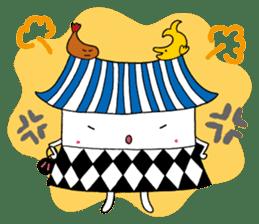 Nagoya city mascot HACHIMARU STAMP sticker #307943