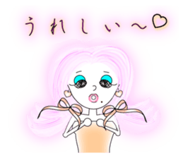 Bubbly-chan                 Dailystamp!! sticker #307954