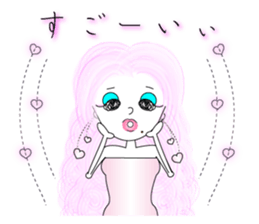 Bubbly-chan                 Dailystamp!! sticker #307963