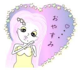 Bubbly-chan                 Dailystamp!! sticker #307968