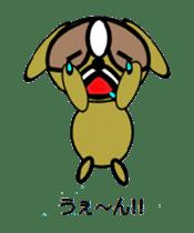 Animal drool (Shih Tzu) sticker #308068