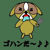 Animal drool (Shih Tzu) sticker #308075