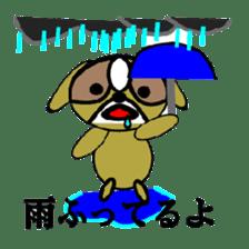 Animal drool (Shih Tzu) sticker #308084