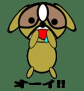 Animal drool (Shih Tzu) sticker #308090