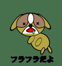 Animal drool (Shih Tzu) sticker #308099