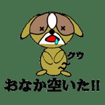 Animal drool (Shih Tzu) sticker #308100