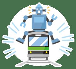 Flat Robot ! sticker #308239