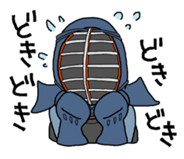 KENDO Samurai Boy sticker #308757