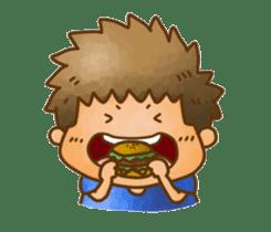 Pufu's happy life sticker #308906
