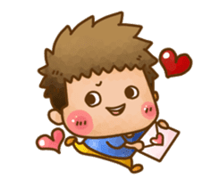 Pufu's happy life sticker #308907