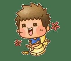 Pufu's happy life sticker #308914