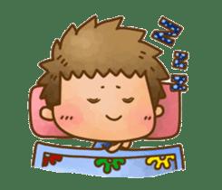 Pufu's happy life sticker #308915