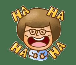Pufu's happy life sticker #308921