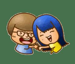 Pufu's happy life sticker #308927