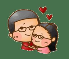 Pufu's happy life sticker #308931