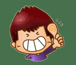 Pufu's happy life sticker #308932
