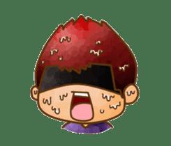 Pufu's happy life sticker #308934