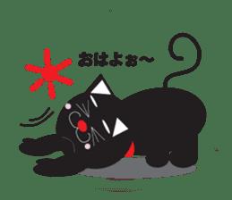 cat to wark sticker #309769
