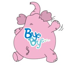 PINK DUMBO (LOOK CHANG THAI) sticker #309839