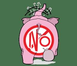 PINK DUMBO (LOOK CHANG THAI) sticker #309846