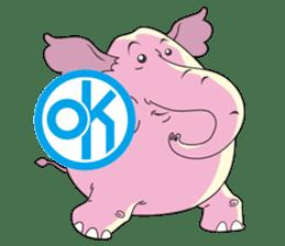 PINK DUMBO (LOOK CHANG THAI) sticker #309847
