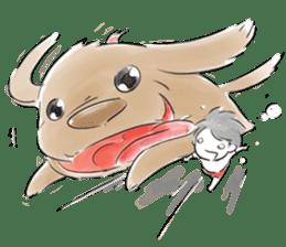 SmallUmbrella sticker #310136