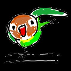 Graffiti LOVEBIRD