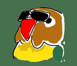 Graffiti LOVEBIRD sticker #310349