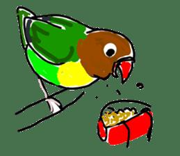Graffiti LOVEBIRD sticker #310352