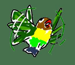 Graffiti LOVEBIRD sticker #310355