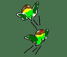Graffiti LOVEBIRD sticker #310360